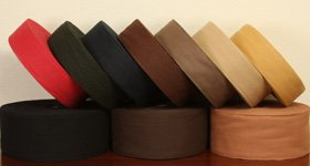 Cotton Binding Collection and colours for carpet edge binding