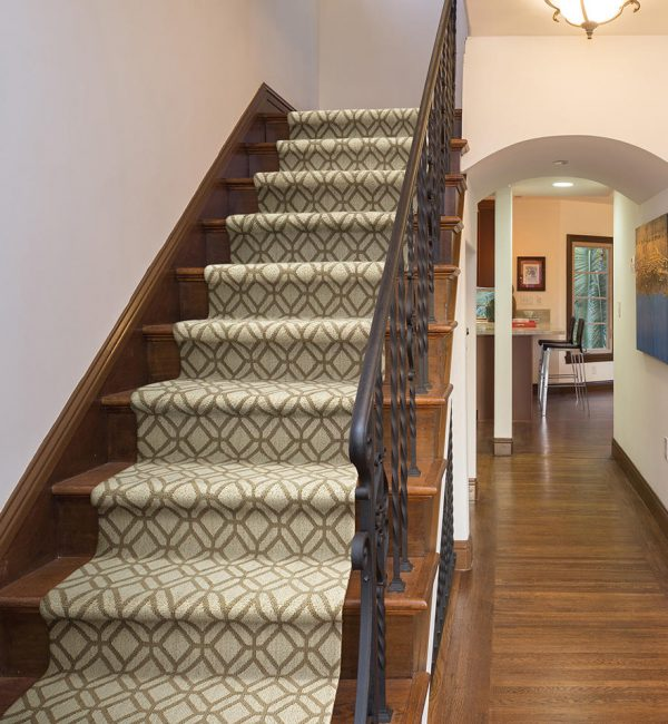 Stair Runners Woodbridge, Modern and Geometric Staircase Runner
