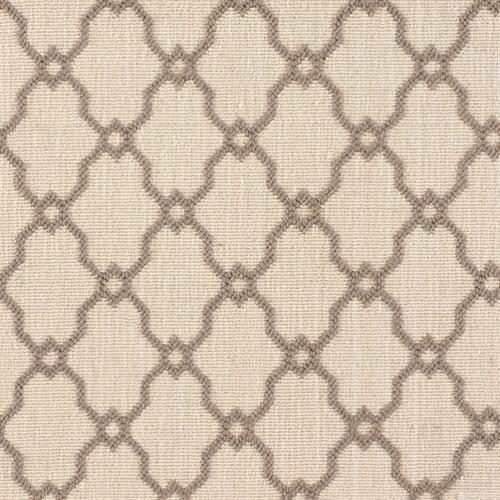Beige Brown Wool Carpet