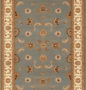 Persian Carpet Runners for Stairs and hallway Blue Beige
