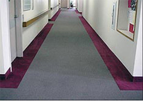Hallway and corridore carpet installation services for condo buildings and apartments