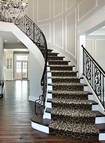 Home Office Carpet Installation Stair Runners